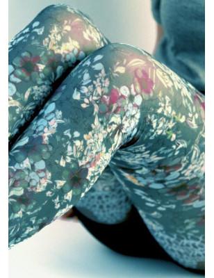 Collant Marienatoilette Antoinette Bleu