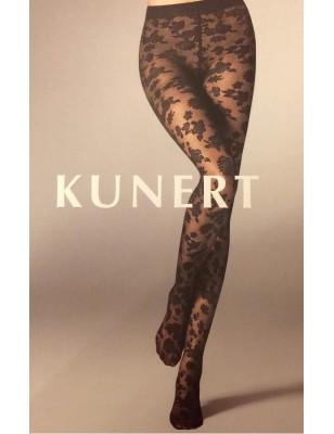 Collant voile de Dentelle floral Kunert