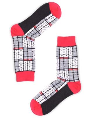 Chaussettes Calculatrice coton