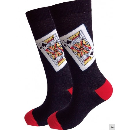 Chaussettes roi de pique