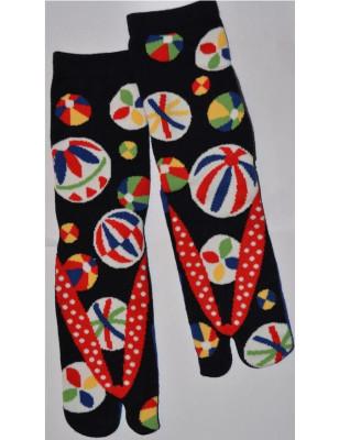 Chaussettes Japonaises Ballons rigolos