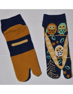 Chaussettes japonaises Tabis chouette délire