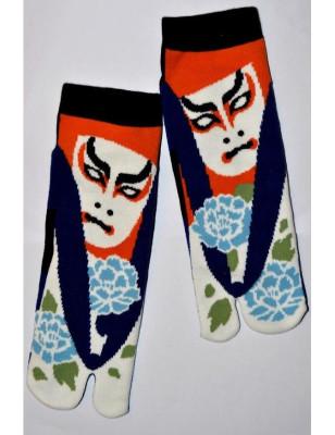 Chaussettes Japonaises masque de théatre