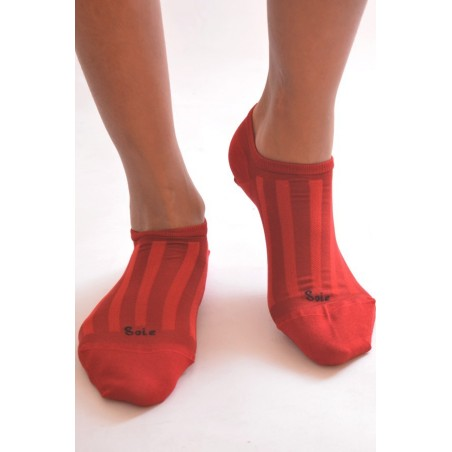 Socquette Berthe aux grands pieds en soie