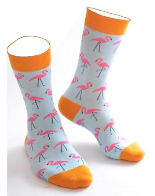 Chaussettes Petits Flamants Roses