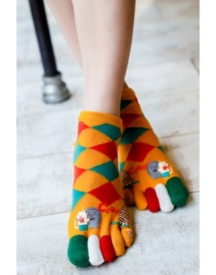 Chaussettes 5 Doigts coton Fan Italy