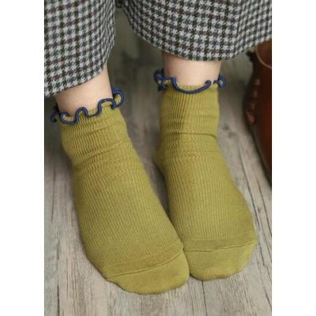 Chaussettes Sans compression noeud pap pomme