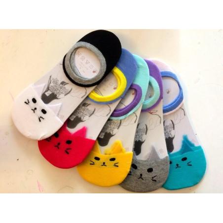 Lot De 5 paires de protége pieds Chats