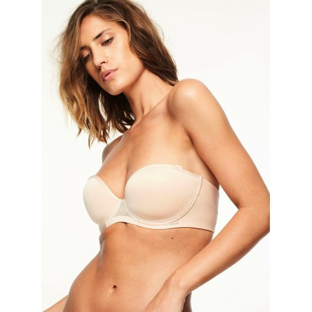Bustier Chantelle Spacer Maern invisible Peau