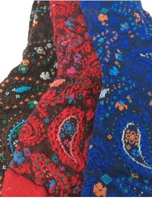 Coffret  3 paires Chaussettes Cachemire psyché