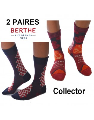 Chaussettes hiver Femme Collector Berthe