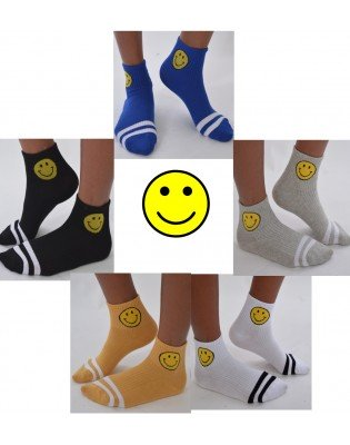 Chaussettes Smiley Sport