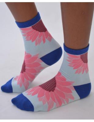 Chaussettes fleurs de Tournesols