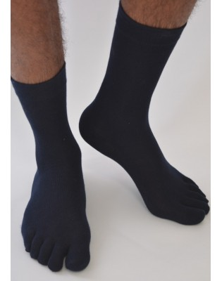 Chaussettes 5 doigts unies Homme