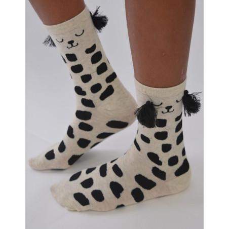 Chaussettes coton Dalmatien