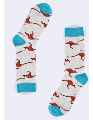 chaussettes kangourou