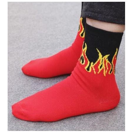 Chaussettes allumez le feu