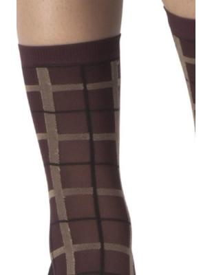 Chaussettes carreaux ecossais Emilio Cavallini
