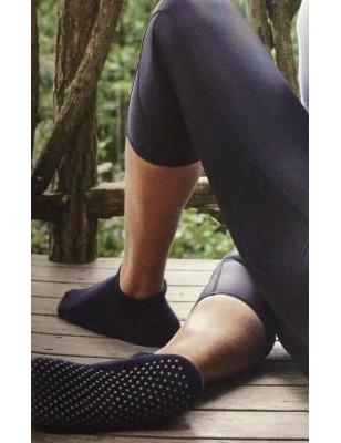 Chaussettes de yoga unisex coton bouclette