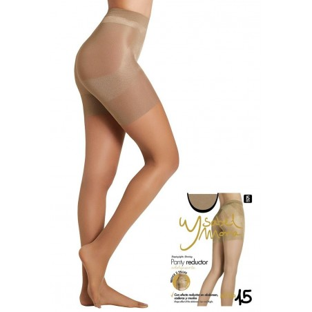 Collant Transparent Panty Gainant Ysabel Mora