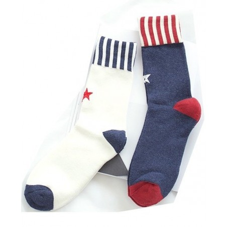Chaussettes Cap'Taine america style moderne