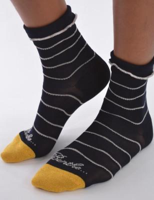 chaussettes vagues chics Berthe aux grands Pieds