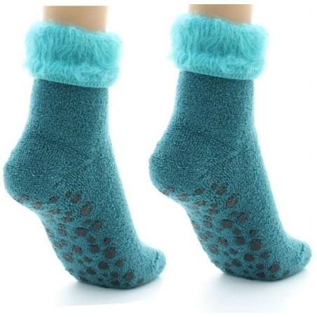 Chaussons chaussettes Perrin Laine mélangée