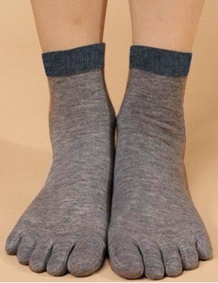 Chaussettes à 5 doigts de pieds sports