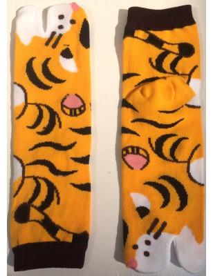 Chaussettes Tabis Tigre