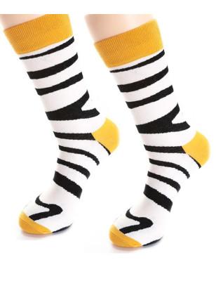 Chaussettes Zebre rigolo Unisex