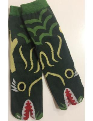 Chaussettes Tabis Dragon Vert