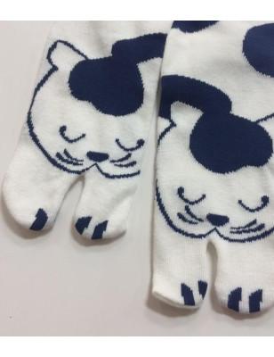 chaussettes Tabis chat qui dort