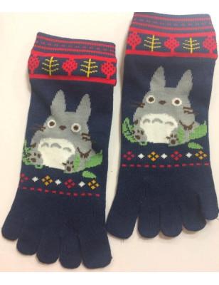 Socquette 5 doigts Totorro