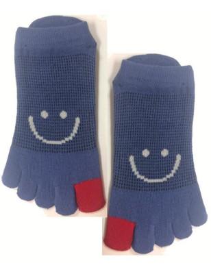 Socquettes 5 Doigts Smile sur le pouce