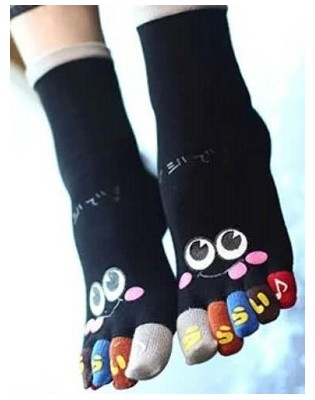 Chaussettes 5 doigts Smiles Homme