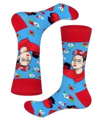 art socks Frida et le singe