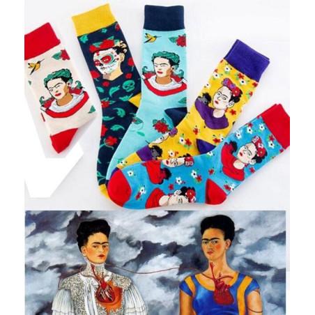 Coffret Chaussettes Frida Kahlo