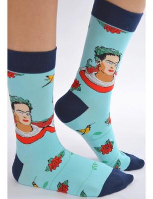 Chaussettes Frida Kahlo
