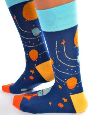 Chaussettes Planètes et Fusées
