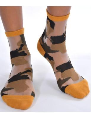 Chaussettes sensuel camouflage chic