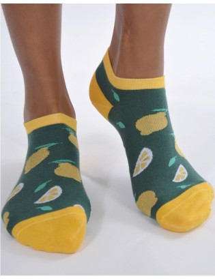 Socquettes Vertes Citrons