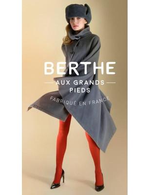 Collant soie Berthe aux grands pieds tendance