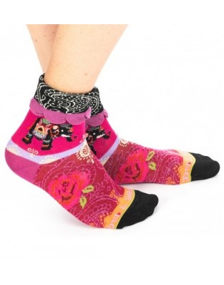 Chaussettes Revers Dub et Drino Bollywood Elephant