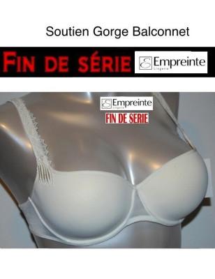 Soutien Gorge Balconnet Empreinte Invisible Ivoire