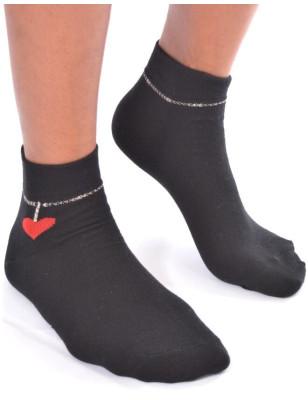 chaussettes bijoux d'amour