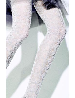 Collant dentelle coton hiver chic girardi