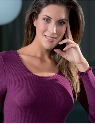 T shirt Manches longues Moretta 5309 Mosto