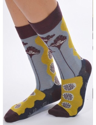 Duo de chaussettes berthe aux grands pieds femme fines
