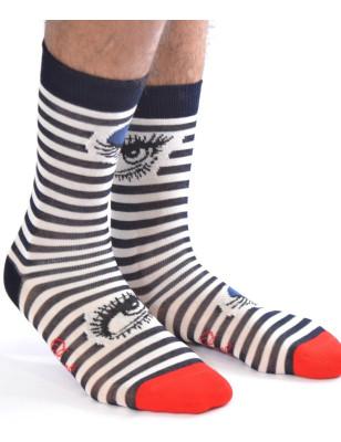 Chaussettes fil d'ecosse Berthe aux grands pieds Clin d'oeil