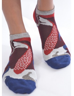Socquette fil d'ecosse berthe aux grands pieds